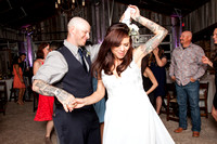 Kevin Fowler's Rustic Ranch  Wedding Reception